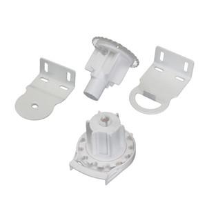 38 mm Roller Blind Shade Soporte de embrague Kits de reparación de cadena de tracción lateral Blanco