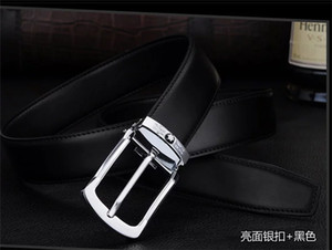 2019 Europe and the United States the latest fashion leisure super quality men's buckle belt free of mail