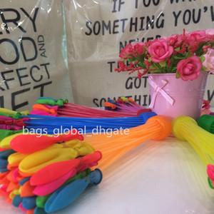 Birçok Renkler 1pcs = 111balloons Renkli Su Balon Şaşırtıcı Sihirli Su Balonlar Bombalar Oyuncaklar Yaz Plaj Su Parti Çocuk Balonlar Oyunları