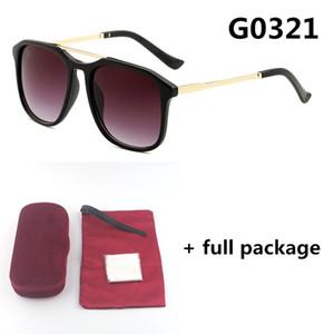 Yeni küçük arı 0321 Marka Güneş UV Tasarımcı kadınlar Gözlükler Klasik Gözlük 5 Renk Tam Paket ücretsiz gönderim