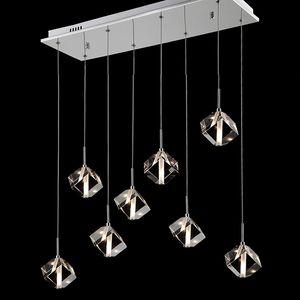 Modern Crystal Chandelier for Dining room Cristal chandelier lighting stainless steel crystal lamp for home indoor lighting