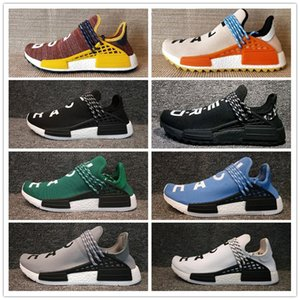 NMD Human Race Uomo Donna Scarpe da corsa Pharrell Williams sconto Athletic Outdoor Training Sport Sneaker Taglia 36-47 Vendita online