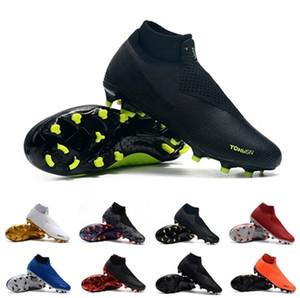 Nike chaussures de football pour hommes pas chers chaussures de football Phantoms Vision Elite DF FG vsn taille football taille EUR 40-45