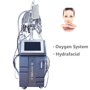 متعددة الأكسجين الضغط العالي آلة حقن الوجه تجديد بالموجات فوق الصوتية ثنائي القطب القطب RF معدات الأوكسجين الفوتون مكركرنت