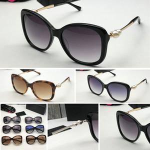 2039 패션 진주 명품 선글라스 고품질 브랜드 편광 렌즈 태양 안경에 대한 여성의 금속 프레임 6 색 5339을 안경 안경