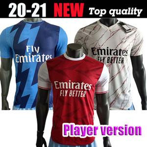 Player Version 20 21 Gunners Arsen Fußball Jerseys 2020 PEPE NICOLAS CEBALLOS HENRY Fußballhemd GUENDOUZI SOKRATIS TIERNEY Fußball-Uniform