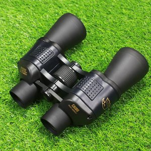 HD 60x60 high power binocular with coordinate low light night vision hunting outdoor travel hiking camping zoom telescope
