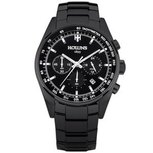 남성은 블루 다이얼 실버 스틸 시계 제조 도구 시계 시계 석영 최고의 브랜드 고급 남성 패션 시계 relogio masculino / SS의 BRW