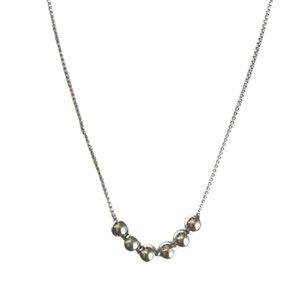 Clavicule simple et généreux Chic Clavicule Collier chaîne collier de perles frais Sen Collier