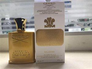 남성 여성 120ML 완벽한 향기 무료 배송 핫 세일 골든 에디션 크리 Millesime 제국의 향수 남녀 공용 향수
