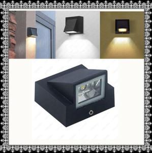 Free shipping Single Head LED Wall Lamp Waterproof IP65 Garden Corridor Lamp Outdoor Indoor Sconce Light AC85-265V