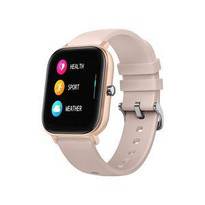 Nueva pantalla P8 inteligente reloj pulsera de pulsera inteligente táctil completa Hombres Mujeres deporte más cara del reloj monitor de ritmo cardíaco IPX7 SmartWatch