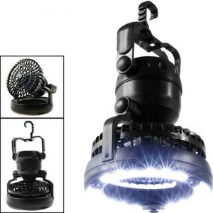 Portable LED Camping Lantern with Ceiling Fan 2-In-1 Combo 18 Super Bright LED Light DAG-ship