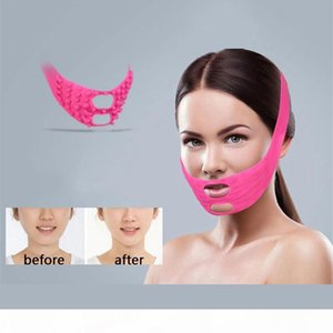 Thin Face Mask Face-lift Acupressure Massage Acupuncture Slimming Duble Chain V-Face Correction Band Belt Lift Up