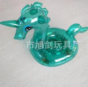 Cartooon Unicorn Пейте Держатели Transparent Pure Color Cup Holder Дети воды Подстаканники Floating игрушки Горячая продажа 2 8xj E1