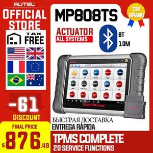 Autel MaxiPRO MP808TS Profesyonel autodiagnostic Aracı Tarayıcı TPMS Yağ EPB BMS SAS DPF IMMO As DS808 + TS601 PK MK808 Reset