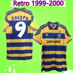 # 9 CRESPO 99 00 RETRO Parma camisetas de fútbol 1913 Vintage Classic Collection 1999 2000 Calcio camisetas de fútbol THURAM AMOROSO FUSER TORRISI