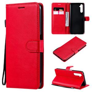 Coques de téléphone portable pour Oppo RealMe 3 / 3Pro 5 5Pro Case Porte-bascule Sacs de portefeuille en cuir PU