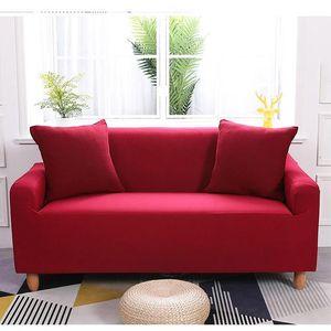 Sofa Cover 235-300cm di Soggiorno Elasticità antiscivolo Couch caso Spandex Fodera universale per Stretch Sofa Cover 4 posti