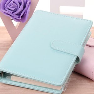 Cute Ring Diary Leather Covers Hot Sale Case Handbook Cover Office Personal Binder Weekly Planner agenda Organizer