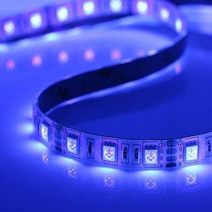 12v all'ingrosso ha condotto 5050 la striscia UV SMD5050 viola sterilizzare UV 390nm striscia principale luce nastro 1M 60leds luce impermeabile