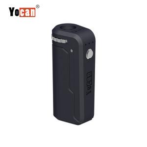 Yocan UNI Box Mod 650mAh Precalentamiento de la batería Altura y diámetro ajustables Soporte para todos los atomizadores Cartuchos de aceite grueso Vape Pen 10 colores
