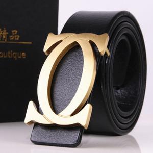2019 correas de diseño mujeres de los hombres de alta calidad de la marca de lujo de tendencias Smooth hebilla de cinturón de cuero genuino informal Cinto Kemer
