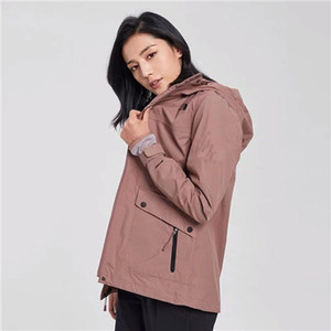 New Designer Womens Fashion Loose Windbreaker Jackets and Natural Color for Sport Coat Brand High Quality Long Sleeve with Size QSL198236