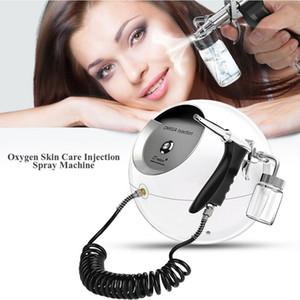 Portable O2 Oxygen Jet Peel Agua Oxígeno Rejuvenecimiento de la piel Retiro del acné Cuidado de la piel Oxígeno Pulverizador DHL