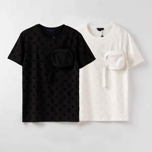 Mode für Männer T-Shirt neuen Sommerentwurf T-Shirt Europäischen amerikanischen populären BOSSprinting T-Shirt Männer Frauen Paare Luxus T-Shirt S-XXL