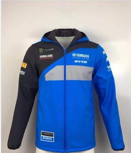 Araç giyim sıcak cl rüzgar geçirmez 2020 yeni Yamaha motosiklet binici kış artı pamuk kazak ceket ceket yarış takım elbise motosiklet giyim