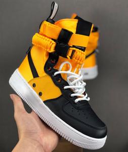 Дизайнерские специальное поле SF силы Mid High Top Баскетбол обувь Air кроссовки Полезность 1 Один Skate сапоги AF1s для мужчин женщин атлетических тренеров
