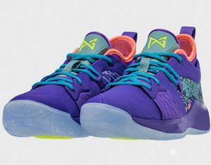 2019 Paul George 2 Herren Basketballschuhe Hig quality PG2 PS4 Playstation Schwarz Blau Rot Weiß PG 2s Sports Sneakers des foams chaussures