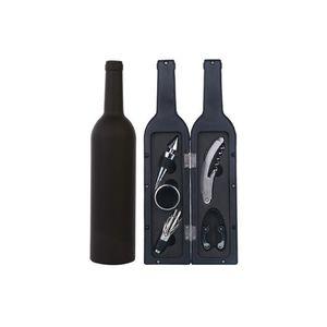 Garrafa presentes Opener 5 Pcs In One Set Vinho Tinto Corkscrew High Grade Vinhos Acessórios Box 16 8fh C R