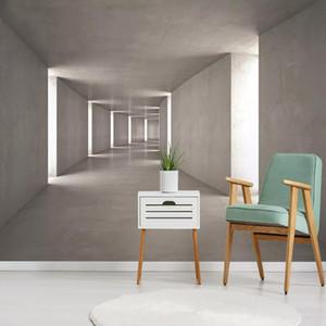 Sob encomenda da foto 3D estereoscópico espaço abstrato mural pintura de parede quarto sala de estar sofá TV papel de parede de fundo Home Decor