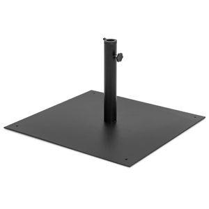 38.5lbs Patio Steel Umbrella Base Stand - Black