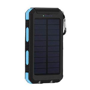 banco de saída LED duplo Power Interface externa dupla 6000mAh USB Battery poder Conveniente Solar Lanterna Banco para a Energia