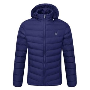 Men Women Electric Heated outdoor vest Coat USB Battery Long Sleeves Heating Warm winter Thermal Clothing Skiing
