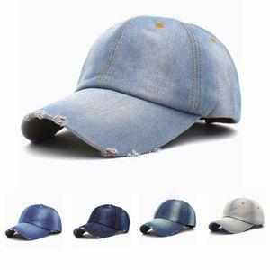 Baseball Vintage unisexe Cowboy Cap causales Hommes Sport Camping Snapback Chapeaux Outdoor Femme Jeans Voyage Sun Hat TTA-1125