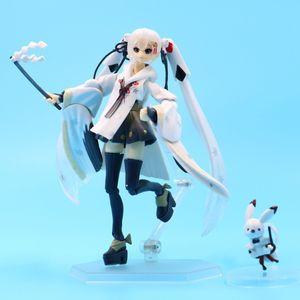 Miku Hatsune Miku Figma 045 # Snow Miku Animation Figure 15cm