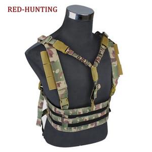 MOLLE sistema Low Profile Chest Rig Vest dell'Esercito Caccia Vest Profilo Chest Rig tattico