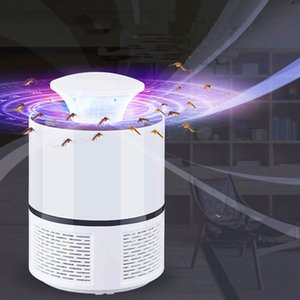 2018 New Smart LED UV Electric Mosquito Killer Lamp USB Charge Noiseless White Other Garden Supplies