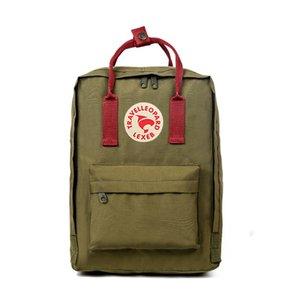 Top Quality Fjallraven Kanken Canvas Backpacks Purple Students Waterproof Computer Backpacks Travel Backpacks Factory Outlet #QA869
