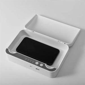 Portátil UV Disinfector Multifuncional Esterilizador a aromaterapia UV Celular Jóias Assista Sanitizer USB Cleaner carregamento Esterilização Box