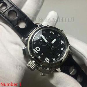 48 мм большой размер vk кварц черный стиль классные мужские часы наручные часы Classico LIMITED EDITION u1001 водонепроницаемые наручные часы