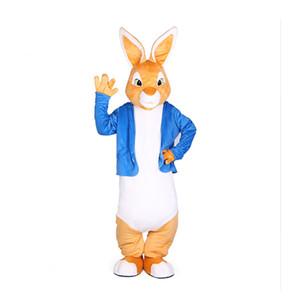 Peter Rabbit caliente trajes de la mascota de Navidad Buny Mascotas Traje disfraces para adultos traje completo de la fiesta de cumpleaños del animado Hallween Purim