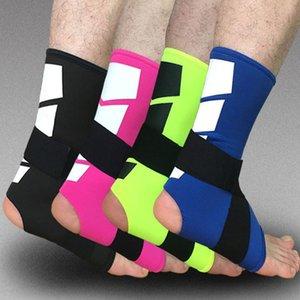 Wholesale-1PCS Sport Knöchelunterstützung Elastic High Protect Sport Knöchel Ausrüstung Sicherheit Laufen Basketball Knöchelbandage Unterstützung