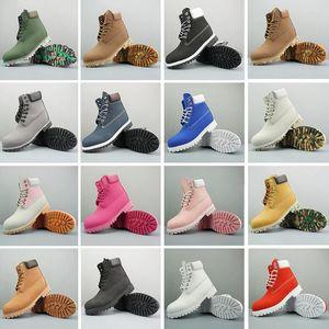 Timberland shoes الأصلي أحذية 6 بوصة تسلق الجبال أحذية أحذية رياضية المشي لمسافات طويلة للرجال النساء حذاء رياضة مدرب أحذية مضادة للماء