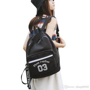Crazy2019 DCIMOR водонепроницаемый Оксфорд рюкзаки Письмо печати школьный женщины сетки рюкзак женский путешествия рюкзак для ноутбука Backbag Mochila