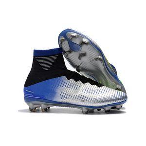 Профессиональный конкурс Мужских Женского Обучение Футбол Обувь противоскольжение износостойких AG Мода высоких верхние ногти футбольных бутсы